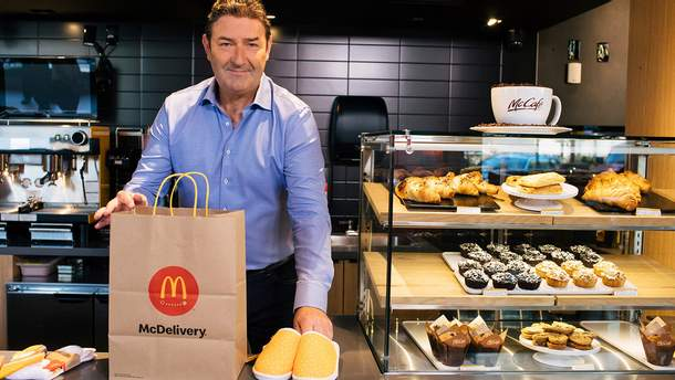 Голова Mcdonald's Стів Істербрук пішов у відставку