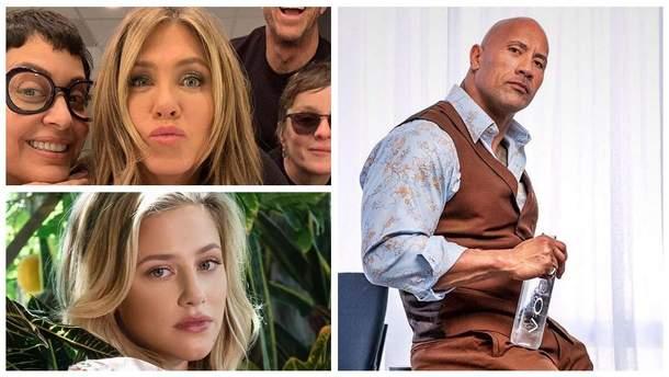 Найпопулярніші голлівудські зірки в соцмережах
