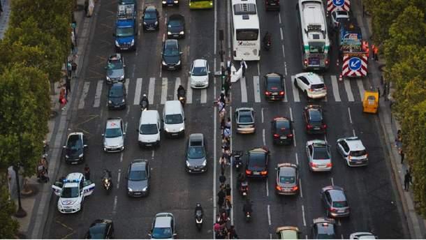 Транспортний колапс у Парижі