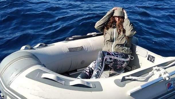 Туристка дві доби провела у відкритому морі