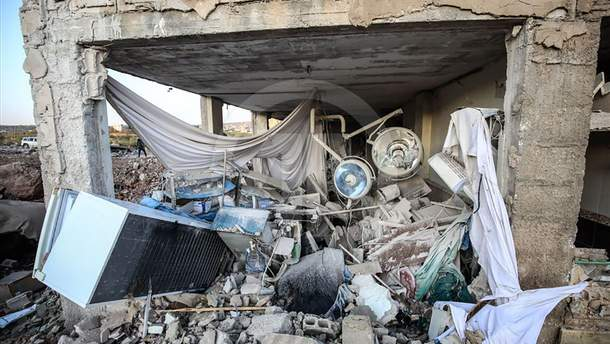 Росія завдала авіаударів по дитячій лікарні у Сирії