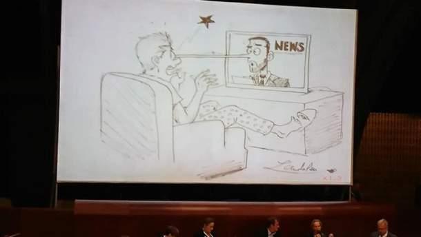 Російські пропагандисти зазнали тролінгу на світовому форумі