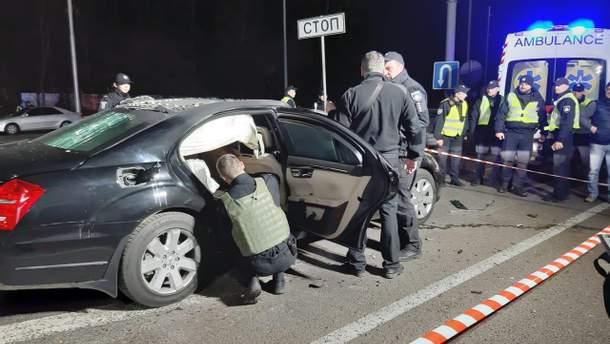 Підрив автомобіля на Житомирській трасі 06.11.2019 - замах на Ігоря Сало
