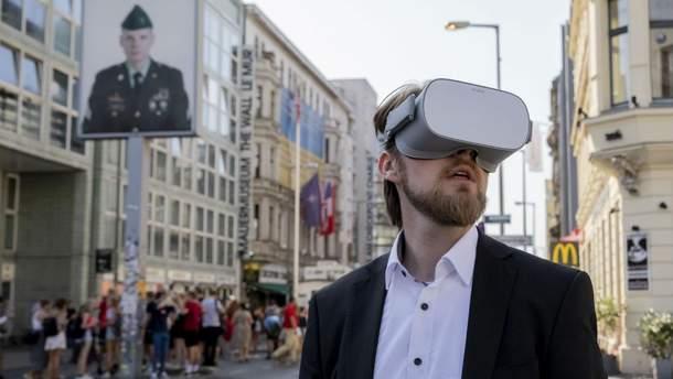 Падение Берлинской стены воссоздали в виртуальной реальности