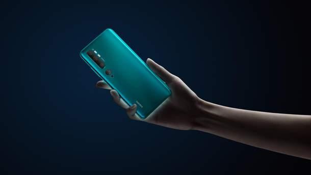 Xiaomi Mi Note 10 з унікальною камерою офіційно представили в Україні