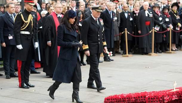 Принц Гаррі та Меган Маркл на пам'ятному заході