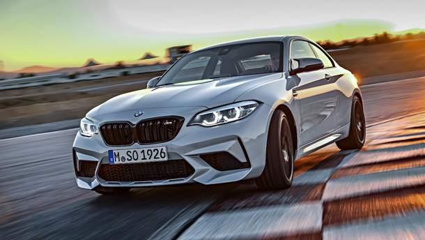 BMW M2 Competition в Украине: тест-драйв 2019, характеристики купе БМВ М2