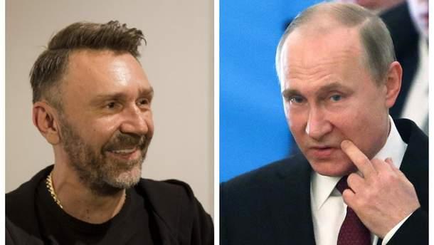 Шнуров висміяв Путіна через заяви про російське озброєння
