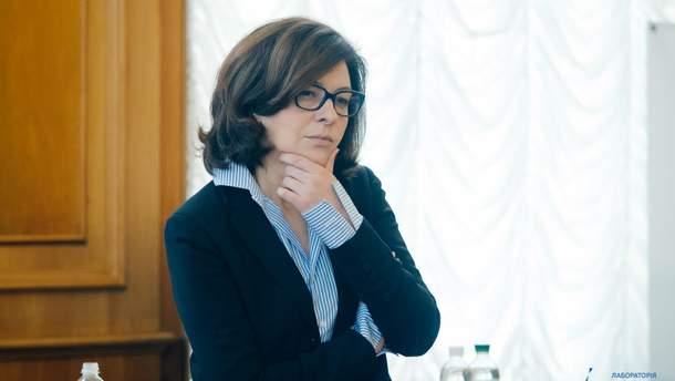 "Оксана Сыроид, глава ""Самопомочи"""