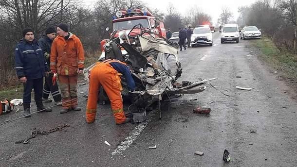 Ужасное ДТП произошло в Житомирской области