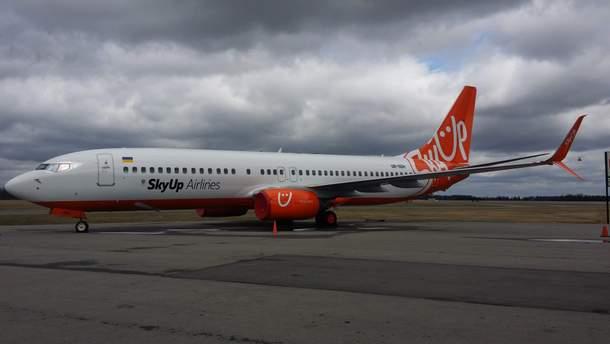 Аварія з літаком  SkyUp сталася в Єгипті