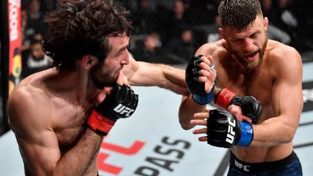 ММА UFC Fight Night 163 результати та відео