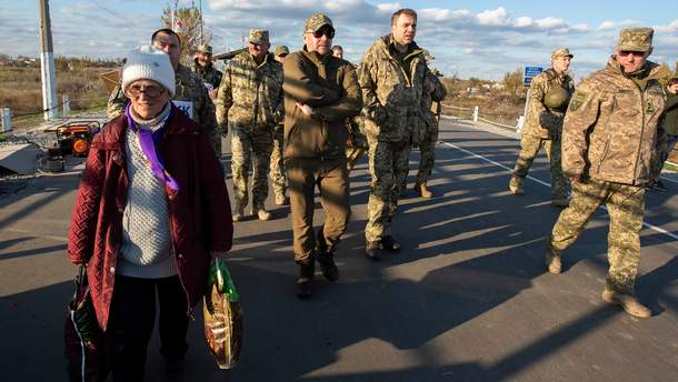 Процесс разведения сил на Донбассе пытаются сорвать боевики, – Загороднюк