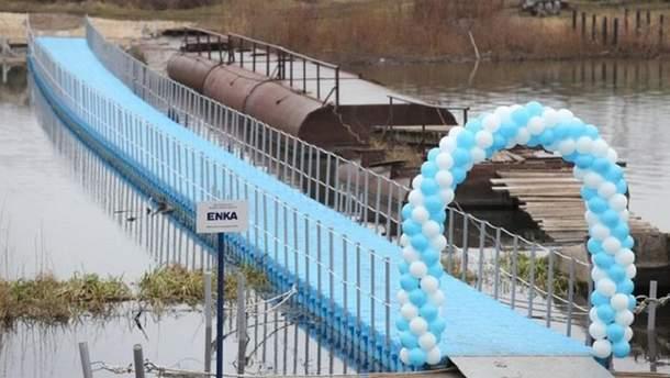 У татарстанському селі відкрили пластиковий міст