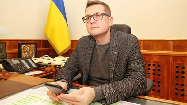 Баканов розповів про свою зарплату в СБУ