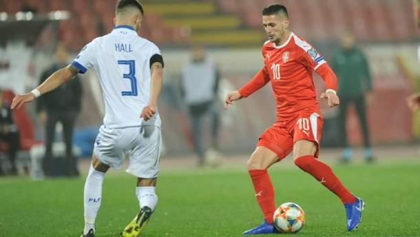 """Сербія перемогла Люксембург, """"динамівець"""" Родрігеш забив гол: відео"""