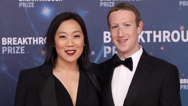 Марк Цукерберг отпраздновал 16 годовщину знакомства с женой: история любви