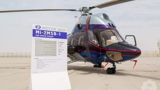 Новинки из Украины: чем оснащен многофункциональный вертолет Ми-2 МСБ-1