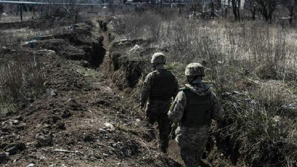 Россия на Донбассе с помощью беспилотника подорвала украинского военного