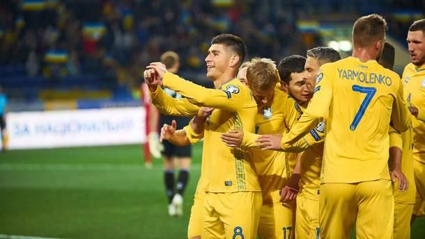 Все голы сборной Украины в отборе на Евро-2020: видео