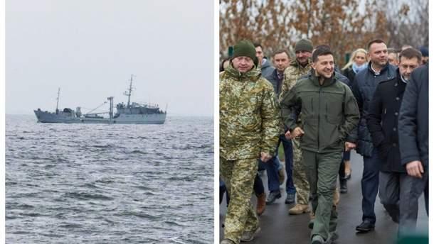 Главные новости 20 ноября: возвращение кораблей, открытие моста в Станице Луганской