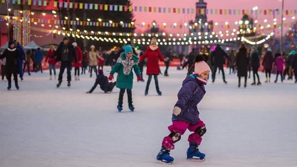 Зимова країна на ВДНГ: куди піти у Києві на зимові свята