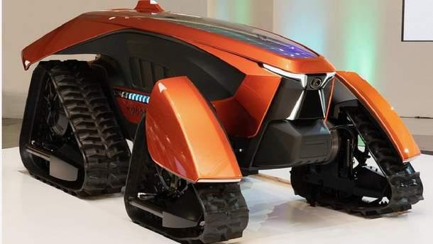 Японці показали безпілотний роботрактор майбутнього