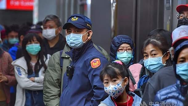 На Тайване подтвердили первую смерть от коронавируса: детали