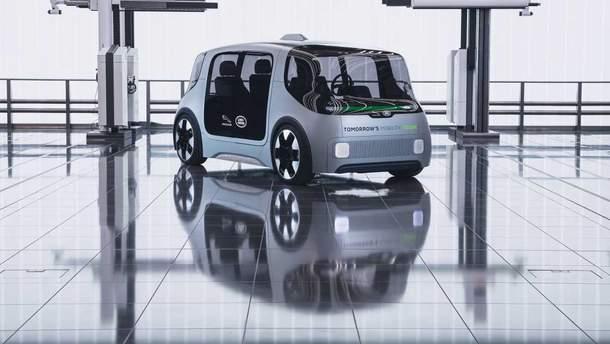 Электромобиль будущего: в Jaguar Land Rover показали концепт беспилотника
