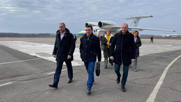 Данилов прибыл в Новые Санжары: фото