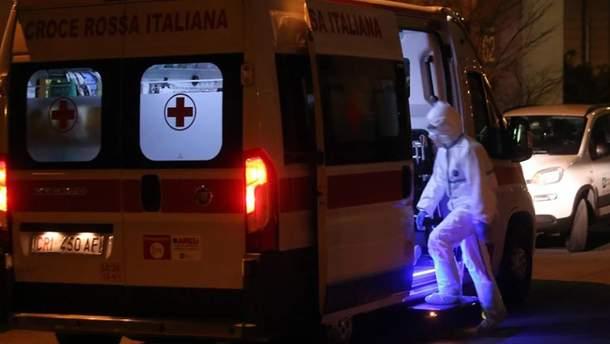 Коронавірус в Італії: 12 людей померли, заражені чотири дитини