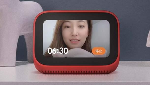 Xiaomi представила не дорогую умную колонку XiaoAI Touch Screen Speaker