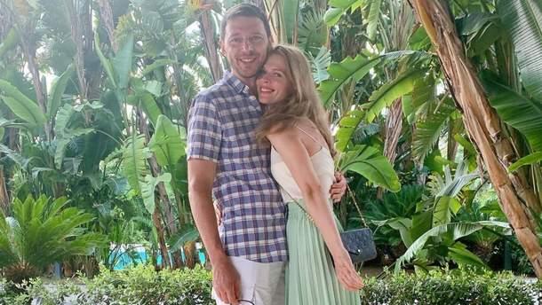 На відпочинку: Ольга Фреймут замилувала мережу романтичним фото з чоловіком