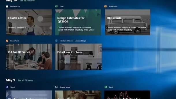 Microsoft видалить Часову шкалу з Windows 10