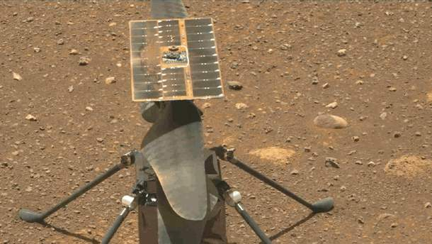 NASA озвучило новую дату первого полета марсианского вертолета Ingenuity