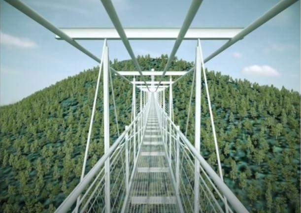 кострукція мосту в Укгорщині
