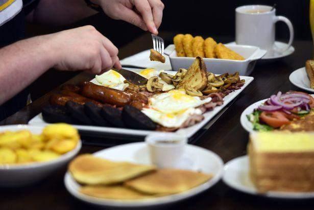 Завтрак на 8000 калорий