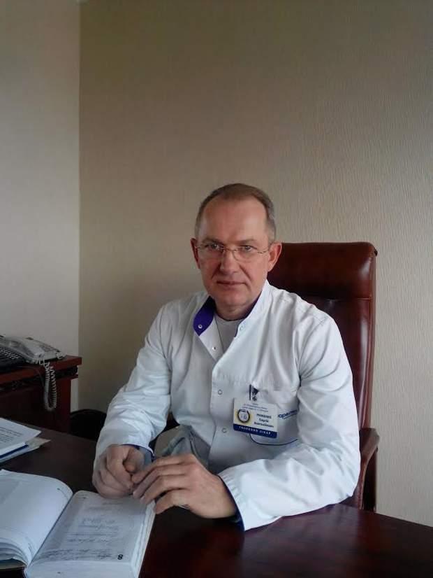 Головний лікар Дніпропетровської обласної лікарні