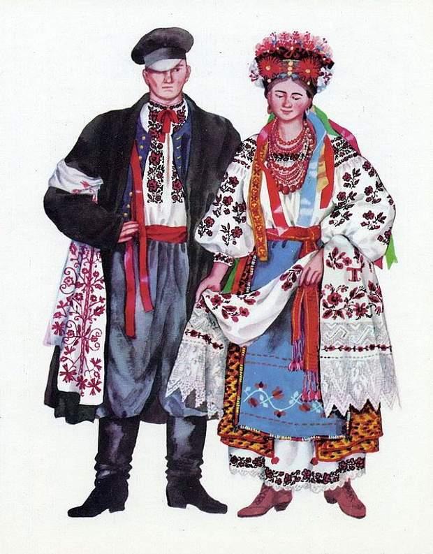 Червоно-чорні херсонські вишиванки
