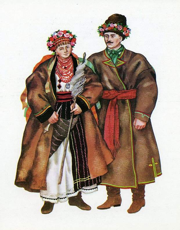 В Хмельницкой области в вышиванках доминировал черный цвет