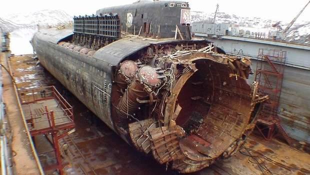 підводний човен курськ