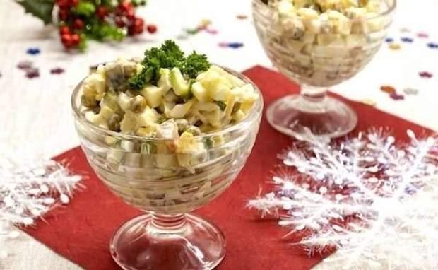 Салат «Морское оливье»