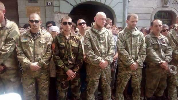 Сліпак, Львів, прощання