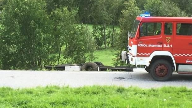 аварія, атобус, Норвегія
