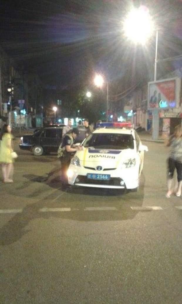 Поліція, ДТП, Дніпро