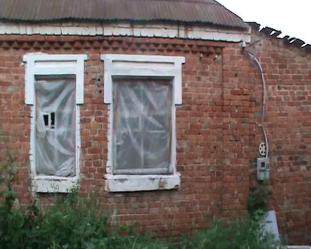 Будинок, Харківщина, обвалення