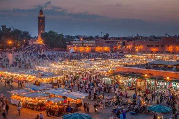 Маракеш, Марокко, туризм