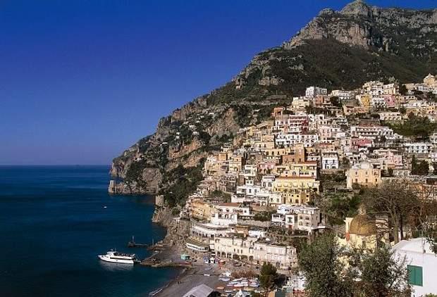 1. Позітано, Італія, туризм