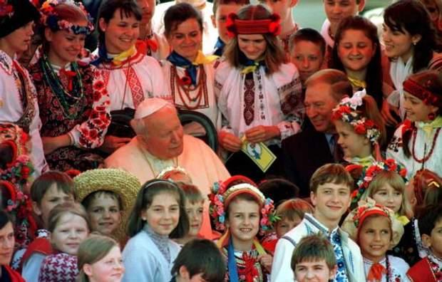 Кучма, Іван Павло II, Київ