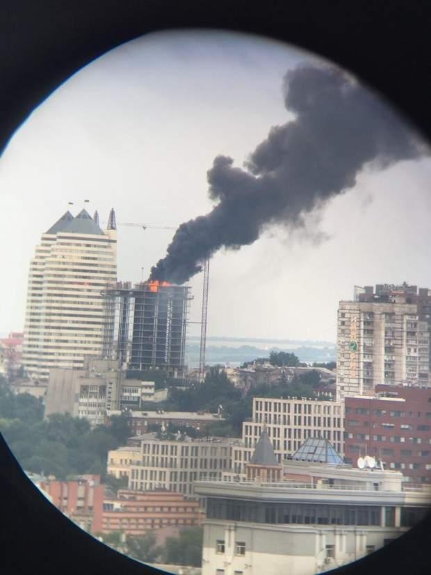 Пожежа, Дніпро
